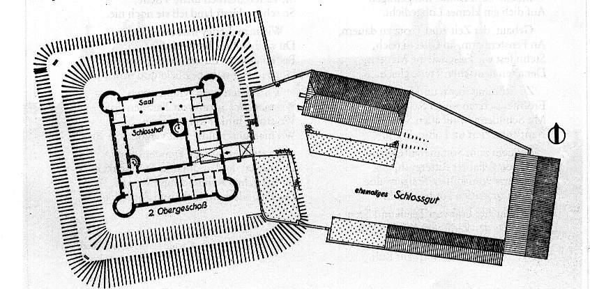 Grundriss zweites Obergeschoss