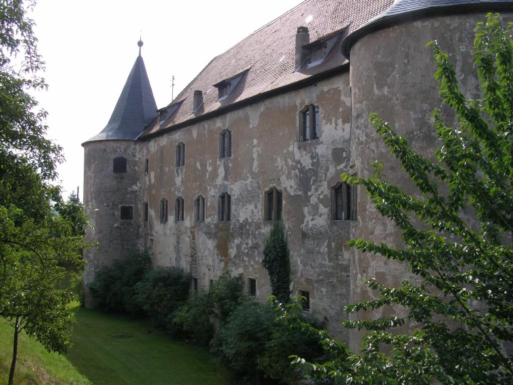 Nordseite von Schloss Breitenlohe