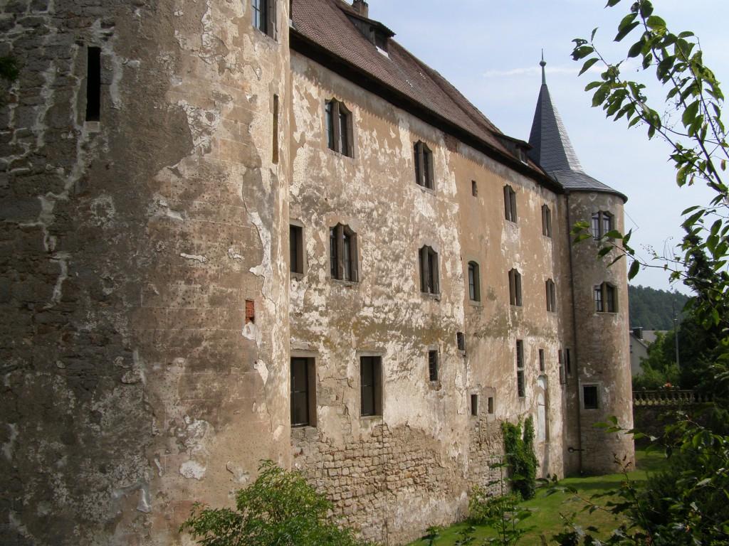 Südseite von Schloss Breitenlohe