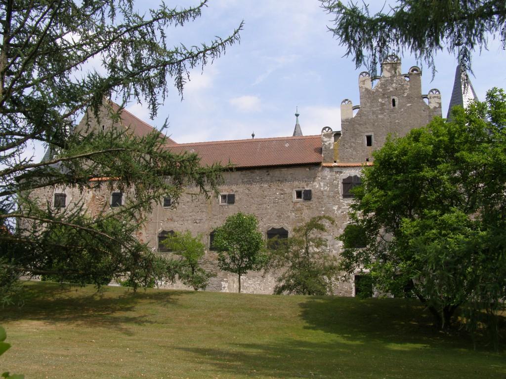 Westseite von Schloss Breitenlohe