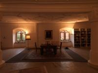 Tafel im Rittersaal